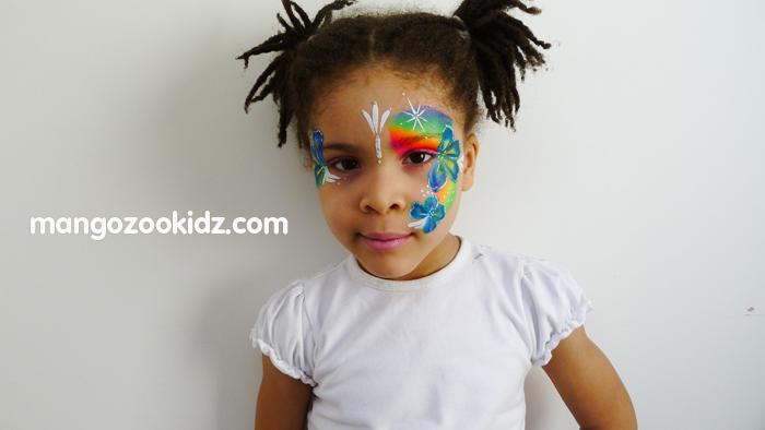 mangozookidz face painting